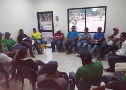 Reunión dirigentes del comité de empresas