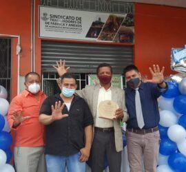 5to. Aniversario del Sindicato de trabajadores de fabrica y anexos de la cia. Coazucar s.a